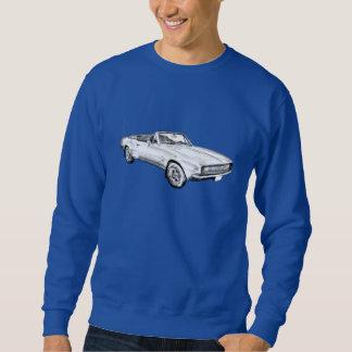 1967 Camaro muscle Car Illustration Sweatshirt