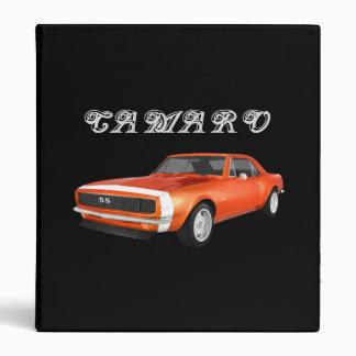 1967 Camaro Muscle Car: Orange Finish: Binder