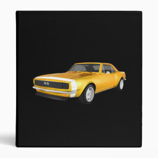 1967 Camaro Muscle Car: Yellow Finish: Binder