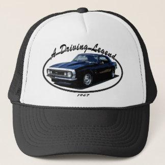 1967_camaro_ss_balck trucker hat