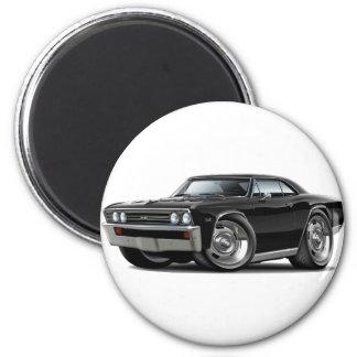 1967 Chevelle Black Car Magnet