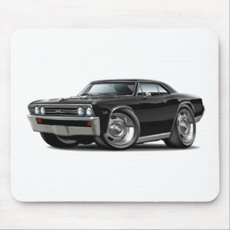 1967 Chevelle Black Car Mouse Pad
