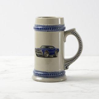 1967 Chevelle Dark Blue Car Beer Stein