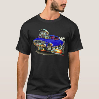 1967 Chevelle Dark Blue Car T-Shirt