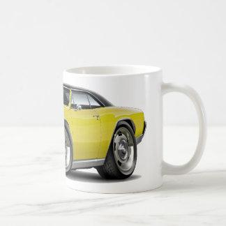 1967 Chevelle Yellow Black Top Coffee Mug