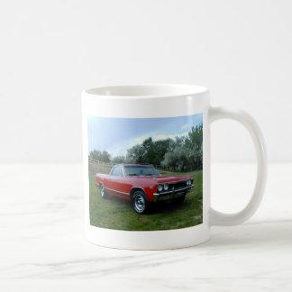 1967 Chevrolet Chevelle El Camino Classic White Coffee Mug