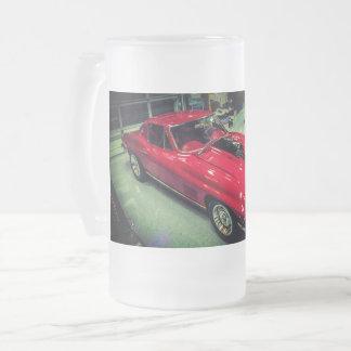 1967 Chevrolet Corvette L88 Frosted Glass Beer Mug
