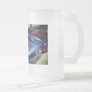 1967 Chevrolet Corvette Stingray Frosted Glass Beer Mug