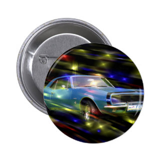 1967 Chevy Camaro RS  Multi Products Gifts 2 Inch Round Button