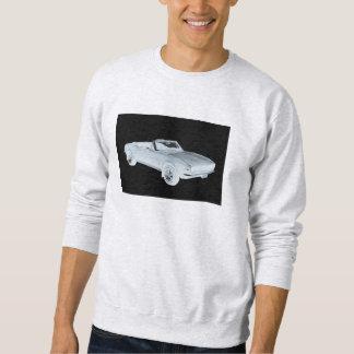 1967 Chevy Camaro RS Muscle Car Pop Art Sweatshirt