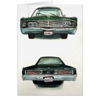 1967 Chrysler 300 Card