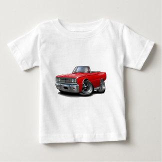 1967 Coronet RT Red Convertible Baby T-Shirt