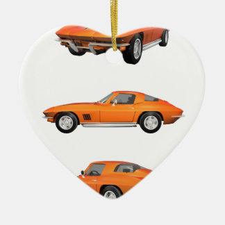 1967 Corvette C2: Ceramic Ornament