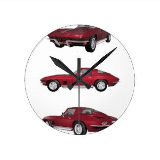 1967 Corvette C2: Clock