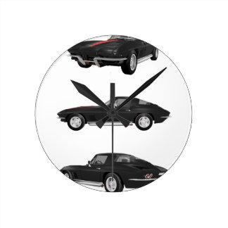 1967 Corvette C2: Clocks