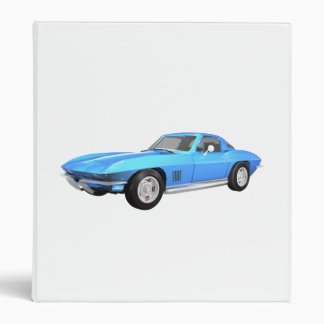1967 Corvette Sports Car: Blue Finish: Binder