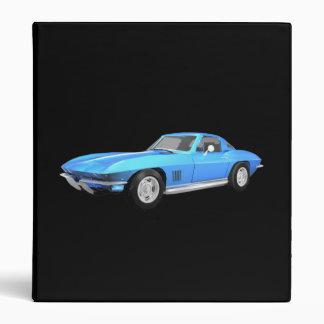 1967 Corvette Sports Car: Blue Finish: Binder
