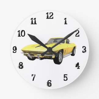 1967 Corvette: Wall Clock