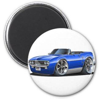 1967 Firebird Blue Convertible Magnet
