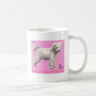 1967 Hungary Pumi Dog Postage Stamp Coffee Mug
