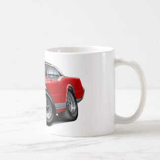 1967 Olds Cutlass Red-Black Car Coffee Mug