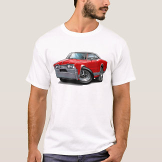 1967 Olds Cutlass Red-Black Car T-Shirt