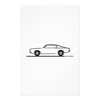 1968 1969 Plymouth Barracuda Custom Stationery