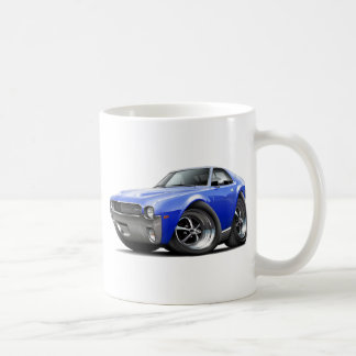 1968-69 AMX Blue Car Coffee Mug
