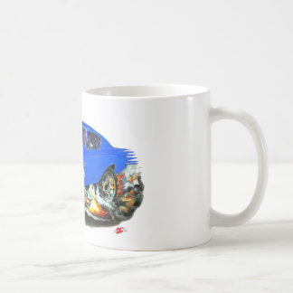 1968-69 Chevelle Blue White Car Coffee Mug