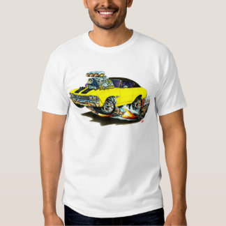 1968-69 Chevelle Yellow-Black Top Car T Shirts