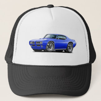 1968-69 GTO Blue Car Trucker Hat