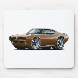 1968-69 GTO Brown Car Mouse Pad