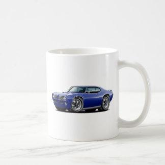 1968-69 GTO Dk Blue Car Coffee Mug