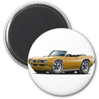 1968-69 GTO Gold Convertible Magnet
