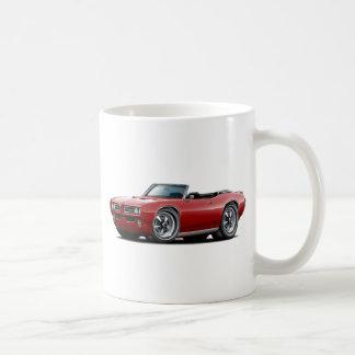 1968-69 GTO Maroon Convertible Coffee Mug