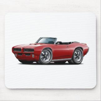 1968-69 GTO Maroon Convertible Mouse Pad