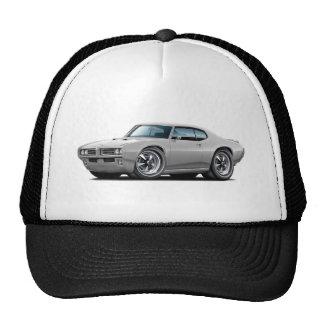 1968-69 GTO Silver Car Trucker Hat