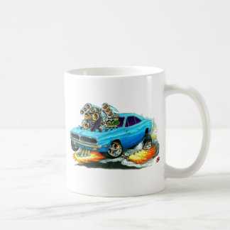 1968-70 Charger Blue Car Coffee Mug