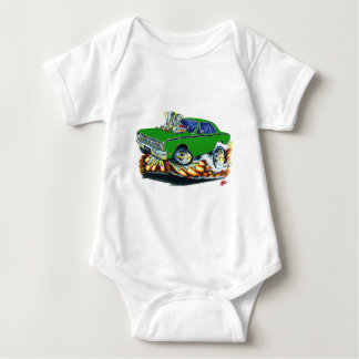 1968-71 Dodge Dart Green Car Baby Bodysuit