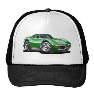 1968-72 Corvette Green Car Trucker Hat
