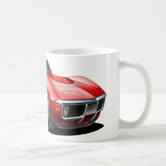 1968-72 Corvette Red Car Coffee Mug