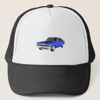 1968 Blue Muscle Car Trucker Hat