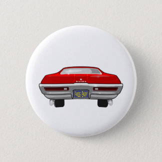 1968 Buick California GS 2 Inch Round Button