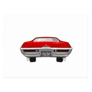 1968 Buick California GS Postcard
