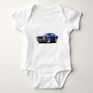 1968 Buick GS Dk Blue Car Baby Bodysuit