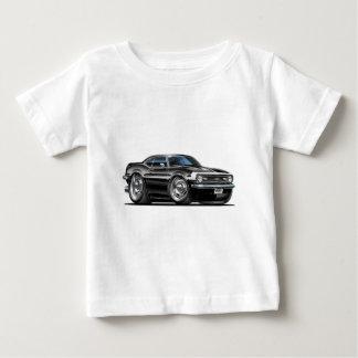 1968 Camaro Black-White Car Baby T-Shirt