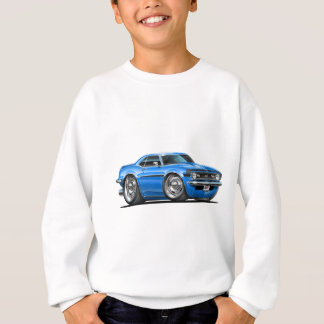 1968 Camaro Blue-Black Car Sweatshirt