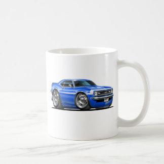 1968 Camaro Blue-White Car Basic White Mug
