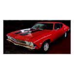 1968 CHEVELLE 427 POSTER
