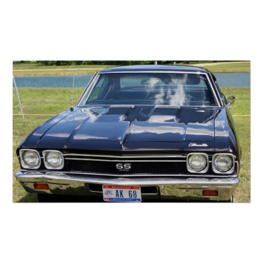 1968 Chevelle Poster